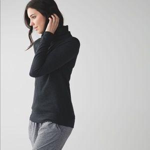 Lululemon In A Cinch Reversible Sweatshirt Sz 6
